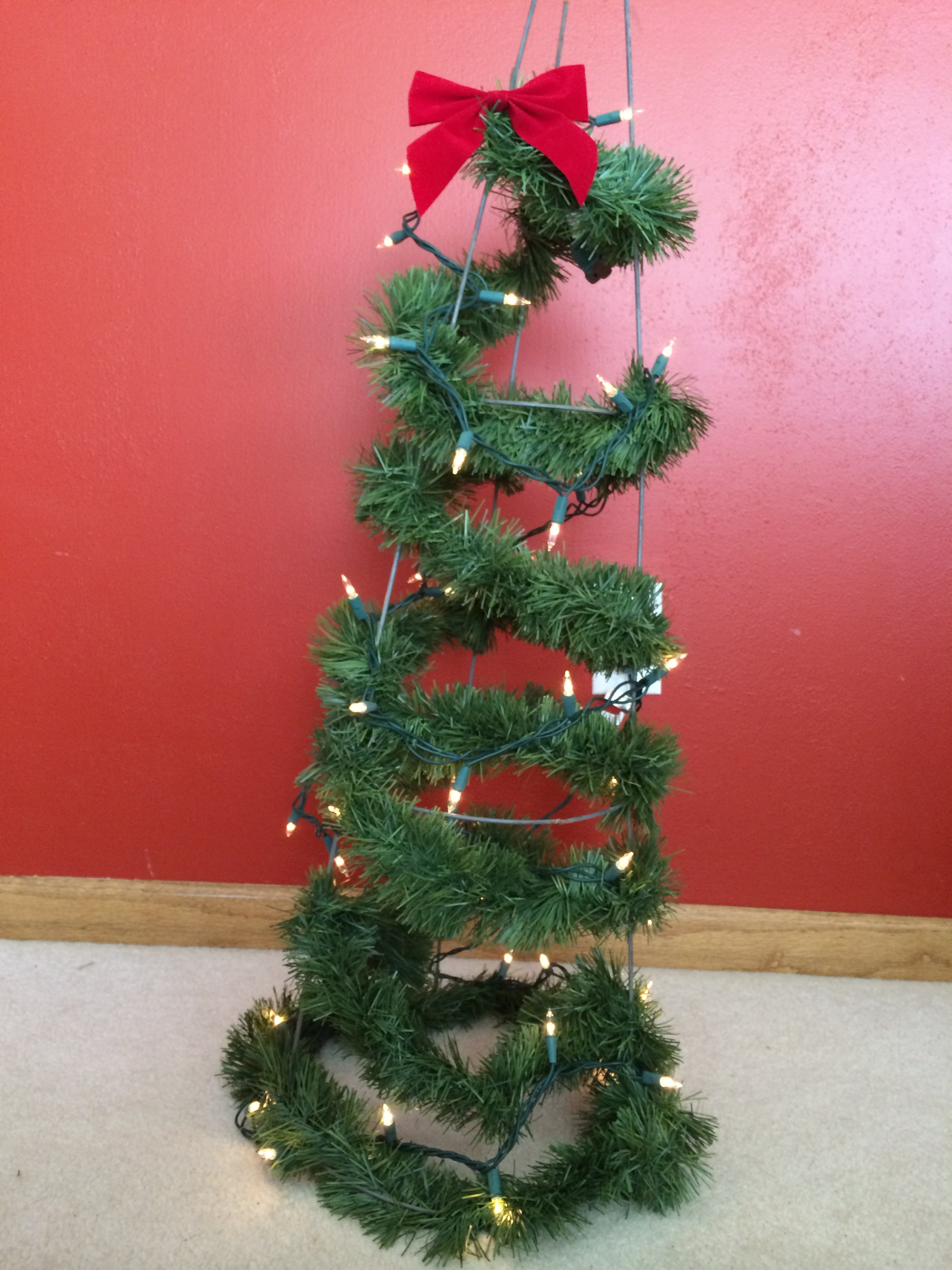 Tomato Cage Christmas Tree.Tomato Cage Christmas Tree Archives Meanderings In The Midwest