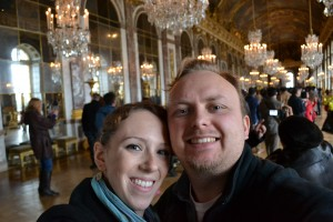 Inside the Hall of Mirrors at Versailles